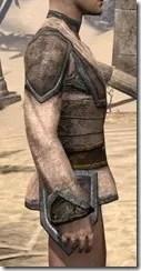 Dark Elf Homespun Jerkin - Male Right