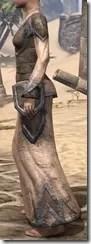 Dark Elf Homespun Robe - Female Side