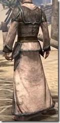 Dark Elf Homespun Robe - Male Rear