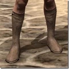 Dark Elf Homespun Shoes - Male Front