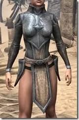 Dark Elf Iron Cuirass - Female Front