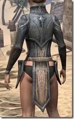 Dark Elf Iron Cuirass - Female Rear