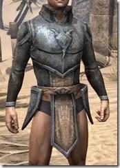 Dark Elf Iron Cuirass - Male Front