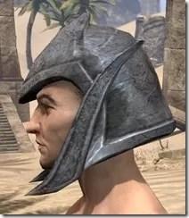 Dark Elf Iron Helm - Male Side