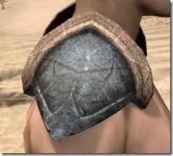 Dark Elf Iron Pauldron - Male Right