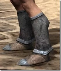 Dark Elf Iron Sabatons - Male Side