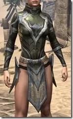 Dark Elf Orichalc Cuirass - Female Front