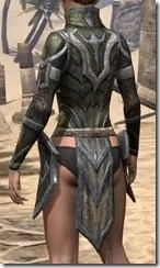 Dark Elf Orichalc Cuirass - Female Rear