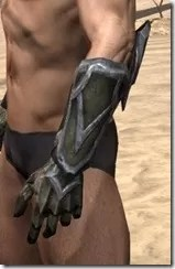 Dark Elf Orichalc Gauntlets - Male Side