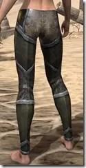 Dark Elf Orichalc Greaves - Female Rear