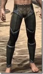 Dark Elf Orichalc Greaves - Male Front