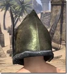 Dark Elf Orichalc Helm - Male Rear