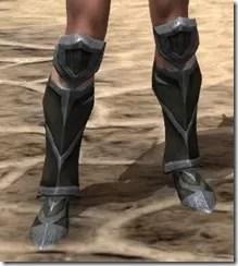 Dark Elf Orichalc Sabatons - Female Front
