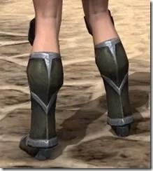 Dark Elf Orichalc Sabatons - Female Rear
