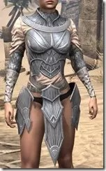 Ebonshadow Iron Cuirass - Female Front