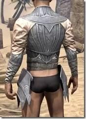 Ebonshadow Iron Cuirass - Male Rear