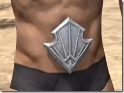 Ebonshadow Iron Girdle - Male Front