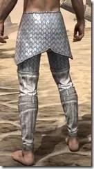 Ebonshadow Iron Greaves - Male Rear