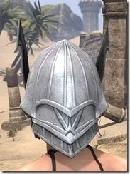 Ebonshadow Iron Helm - Female Rear