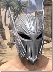 Ebonshadow Iron Helm - Male Front