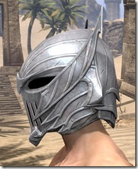 Ebonshadow Iron Helm - Male Side