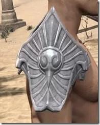 Ebonshadow Iron Pauldrons - Male Right