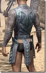 Glass Iron Cuirass - Male Rear