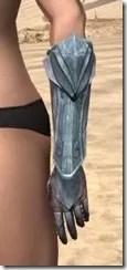 Glass Iron Gauntlets - Female Side