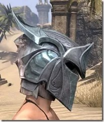 Glass Iron Helm - Female Right