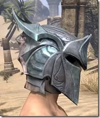 Glass Iron Helm - Male Right