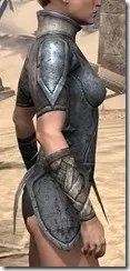 High Elf Iron Cuirass - Female Right