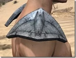High Elf Iron Pauldron - Male Right