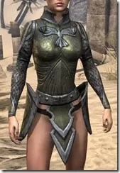 High Elf Orichalc Cuirass - Female Front
