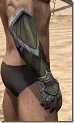 High Elf Orichalc Gauntlets - Male Right