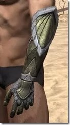 High Elf Orichalc Gauntlets - Male Side