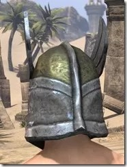 High Elf Orichalc Helm - Male Rear
