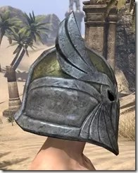 High Elf Orichalc Helm - Male Right