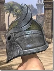 High Elf Orichalc Helm - Male Side