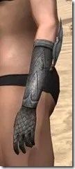 High Elf Steel Gauntlets - Female Side