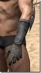High Elf Steel Gauntlets - Male Side