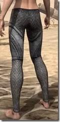 High Elf Steel Greaves - Female Rear