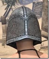 High Elf Steel Helm - Female Rear