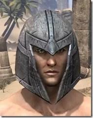High Elf Steel Helm - Male Front