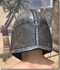 High Elf Steel Helm - Male Rear