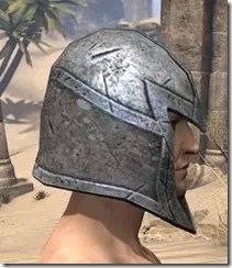 High Elf Steel Helm - Male Right