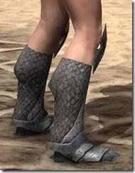 High Elf Steel Sabatons - Female Right