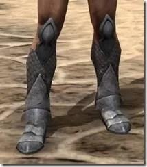 High Elf Steel Sabatons - Male Front