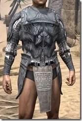 Hlaalu Iron Cuirass - Male Front