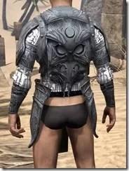 Hlaalu Iron Cuirass - Male Rear