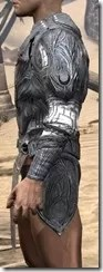 Hlaalu Iron Cuirass - Male Side
